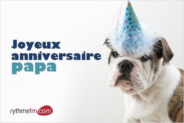 Joyeux anniversaire papa bully au petit chapeau bleu - Carte anniversaire papa a imprimer ...